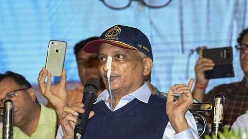 Goa chief minister, Manohar Parrikar, extremely critical